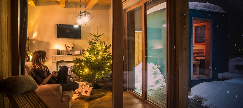 Advent in den Alpegg Chalets