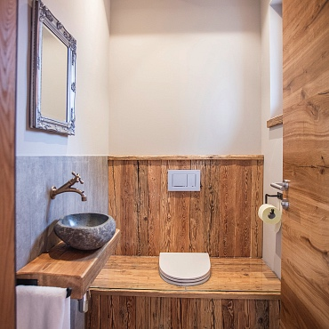 plumpsklo toilette en vogue in your holiday house hotel in waidring tyrol